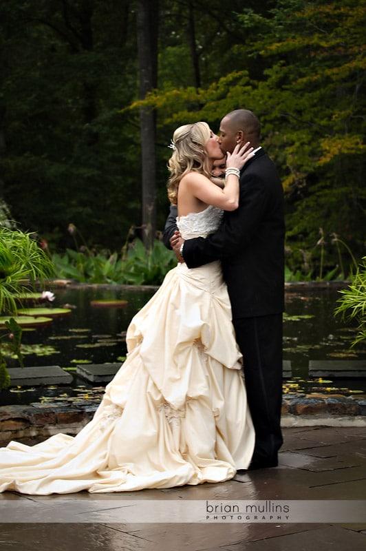 wedding at duek gardens