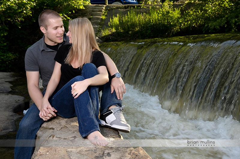 engagement session near water