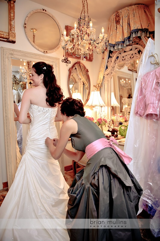 angus barn pavilion bridal room
