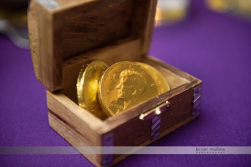 chocolates in treasure chest