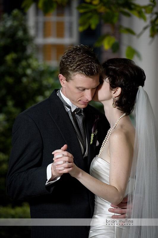 wedding photo at the Carolina Inn
