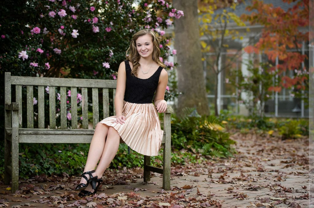 Raleigh high school senior portrait