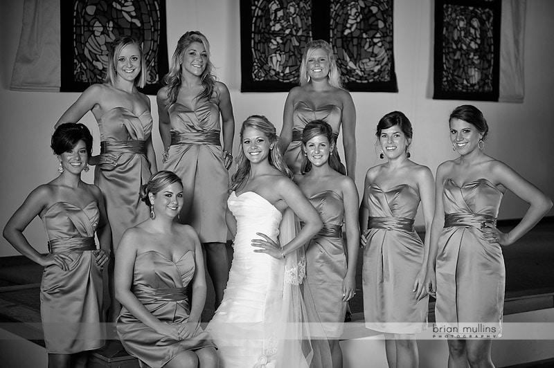 B&W wedding photgraphy