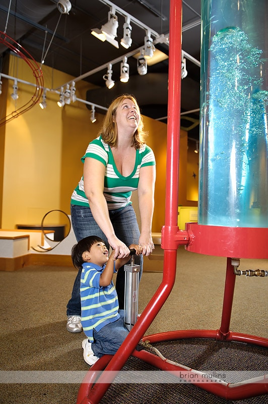 science exhibit at durham museum of life and science