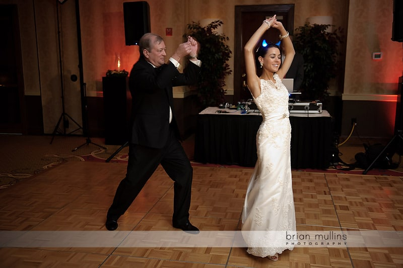 coreographed father daughter dance