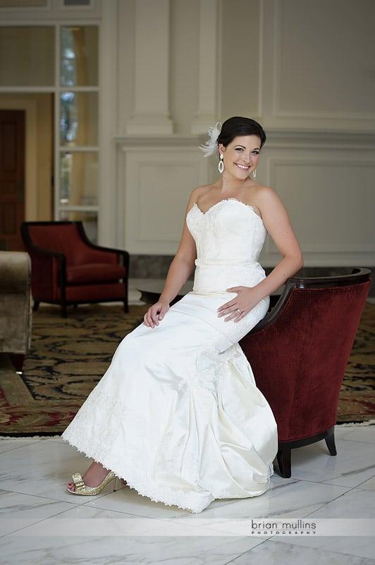 state club wedding portraits