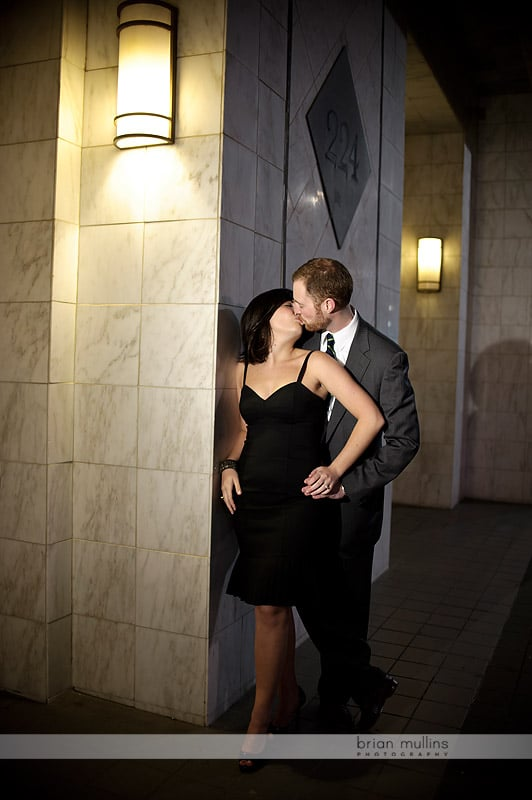 engagment sessions at night
