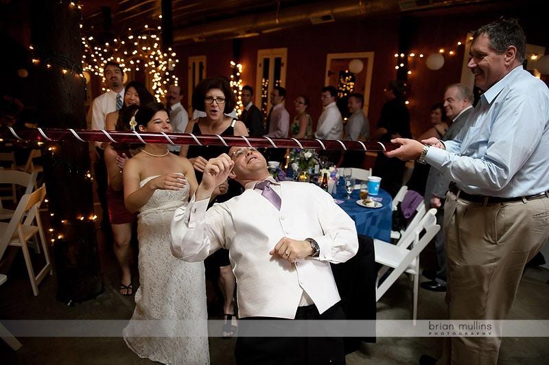 wedding limbo dance