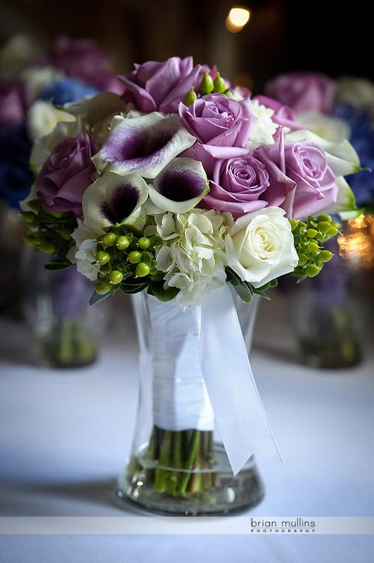 wedding bouquet by University florist