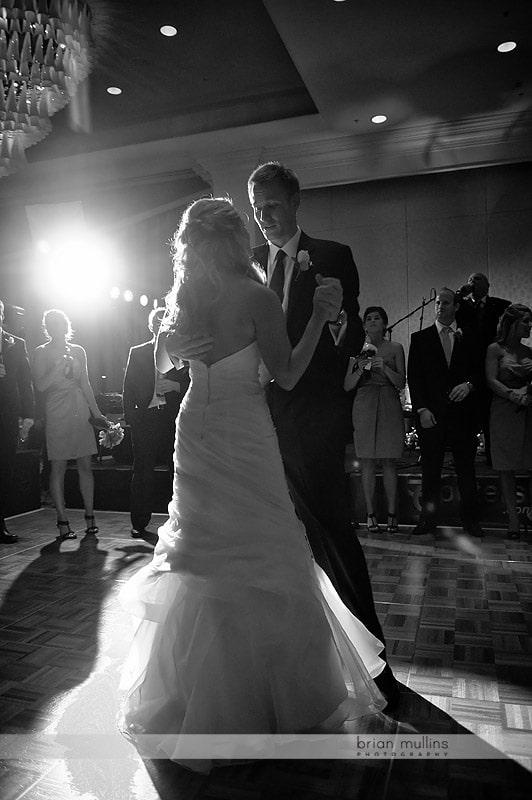 renaissance hotel in Raleigh wedding reception