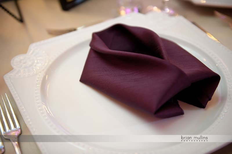 wedding napkin fold