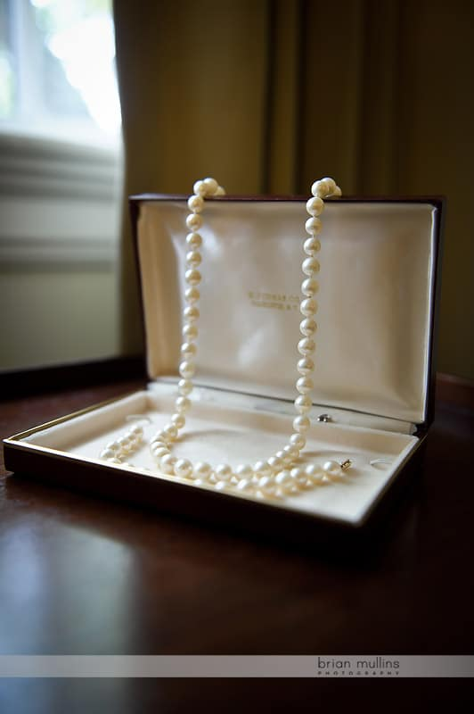 mothers pearls for wedding day