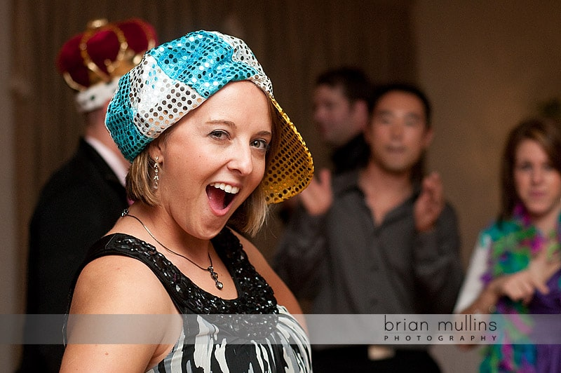 fun wedding reception - Grove Park Inn