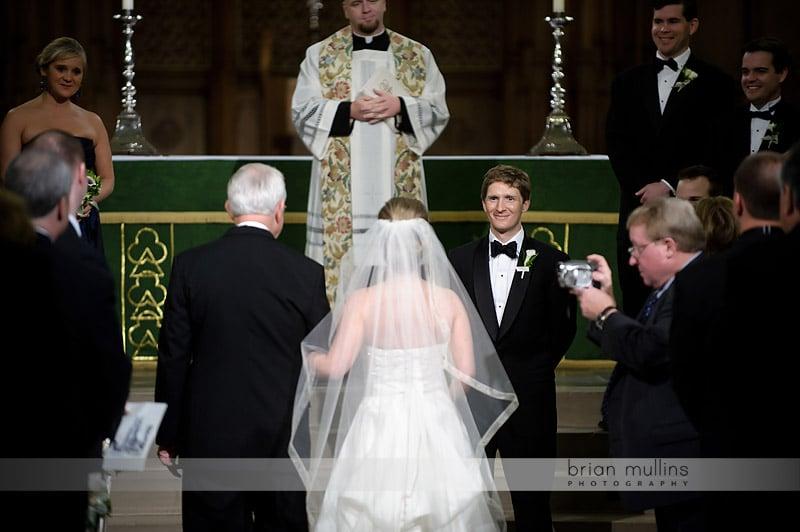 wedding at duke chapel