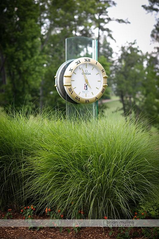 omega clock at TPC wakefield