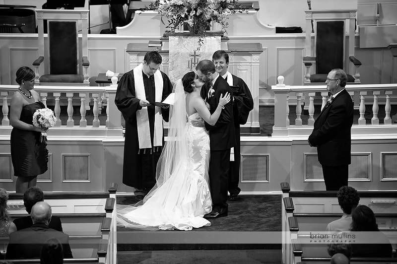Hayes Barton Church Wedding