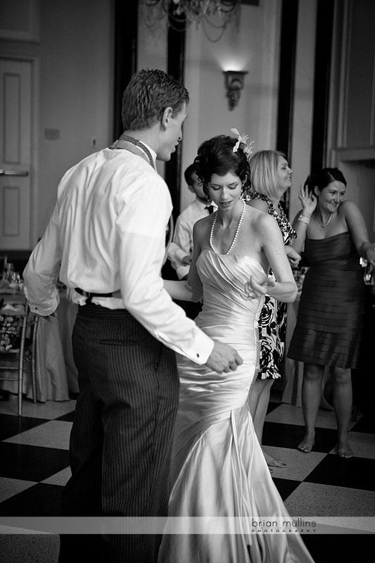 dancing at carolina inn wedding reception