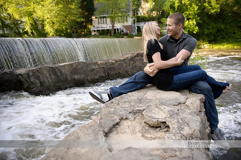 engagement photos in raleigh