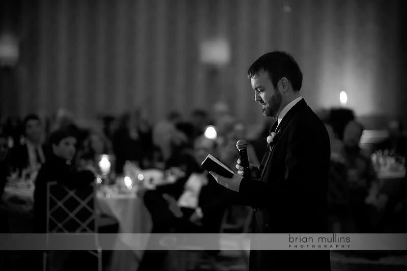 groomsman wedding toast