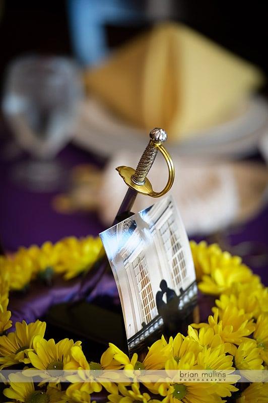 sword table centerpiece