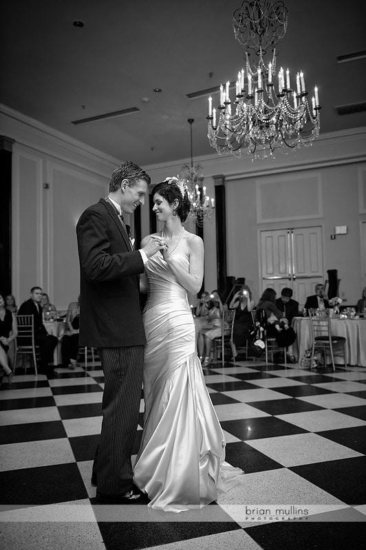 old well room wedding reception