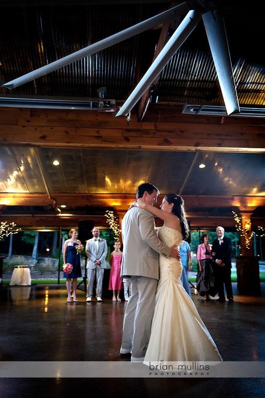 angus barn pavilion wedding dance