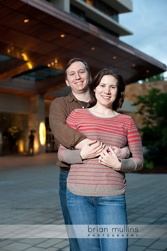 engagement session at the Umstead Hotel