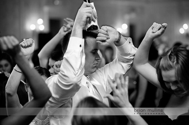 wedding reception at washington duke