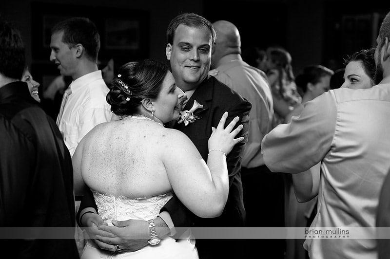 wedding reception at TPC wakefield