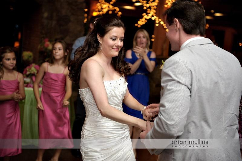 angus barn pavilion wedding reception