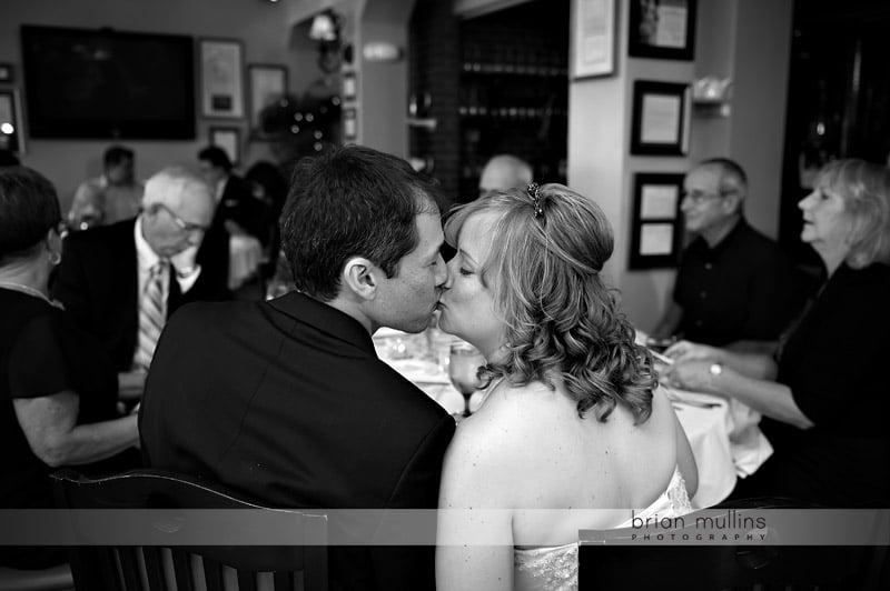 wedding reception at 2nd empire