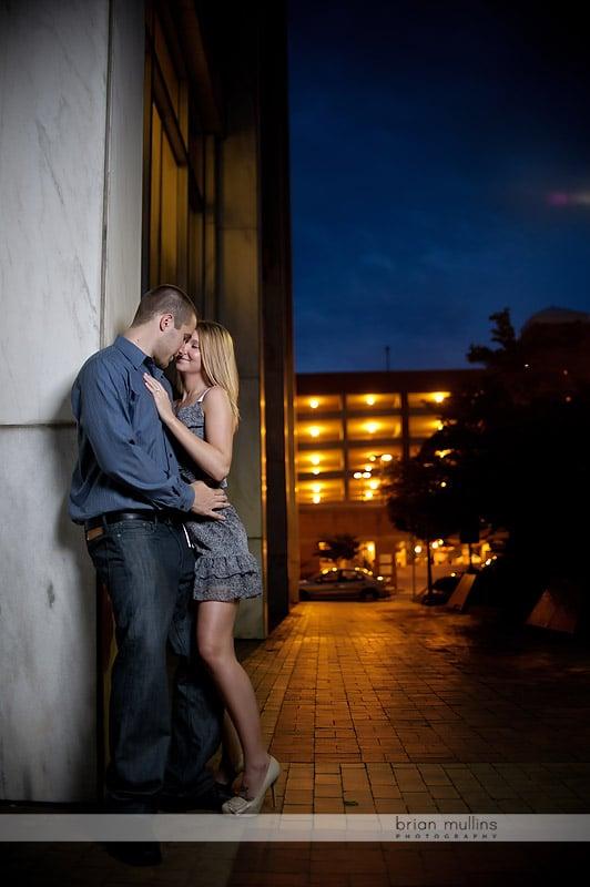 sexy engagement photo
