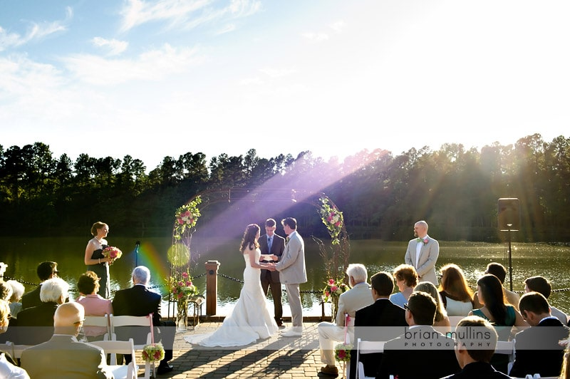 Angus barn pavilion wedding