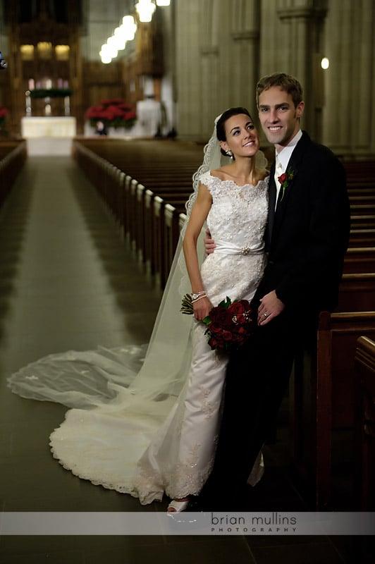 duke chapel wedding photographs