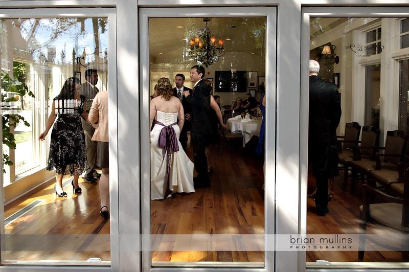2nd empire wedding reception
