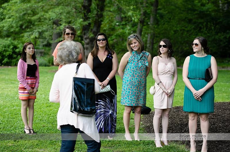 coker arboretum wedding rehearsal