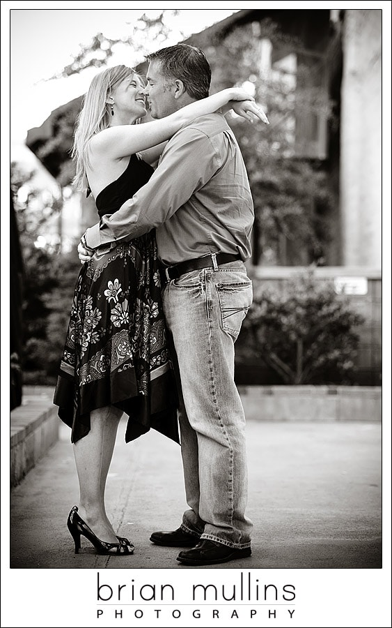 A little pre-season practice - Raleigh Engagement Session