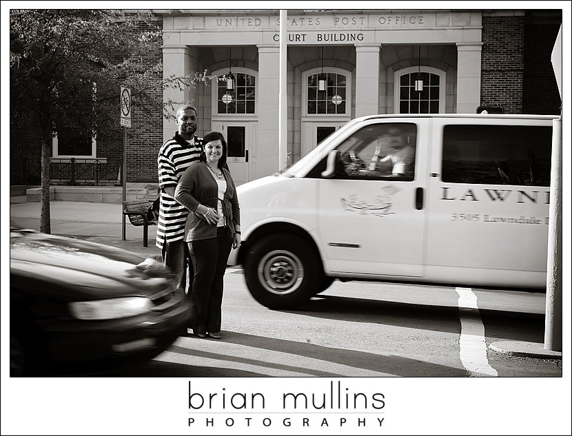 Rachel & Ed - Engagement Session in Chapel Hill NC