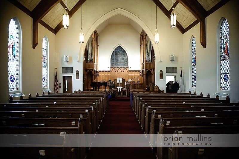 Fairmont Methodist UMC | Wedding Photography