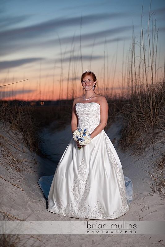 Wrightsville Beach, NC Bridal Portrait