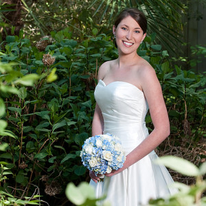 Duke gardens bridal portrait | Carly