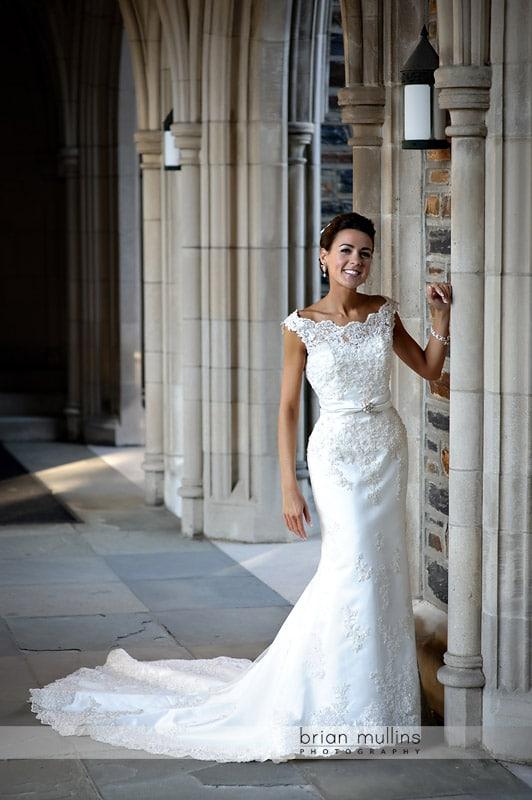 Alise | Duke Chapel Bridal Portrait