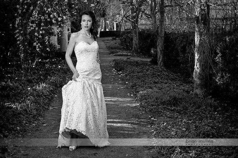 Reynolda Gardens Bridal Portrait