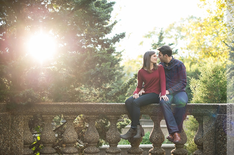 Washington D.C Engagement Session | Meridian Hill Park