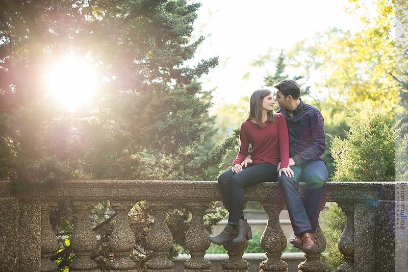 Washington D.C Engagement Session | Meridian Hill Park