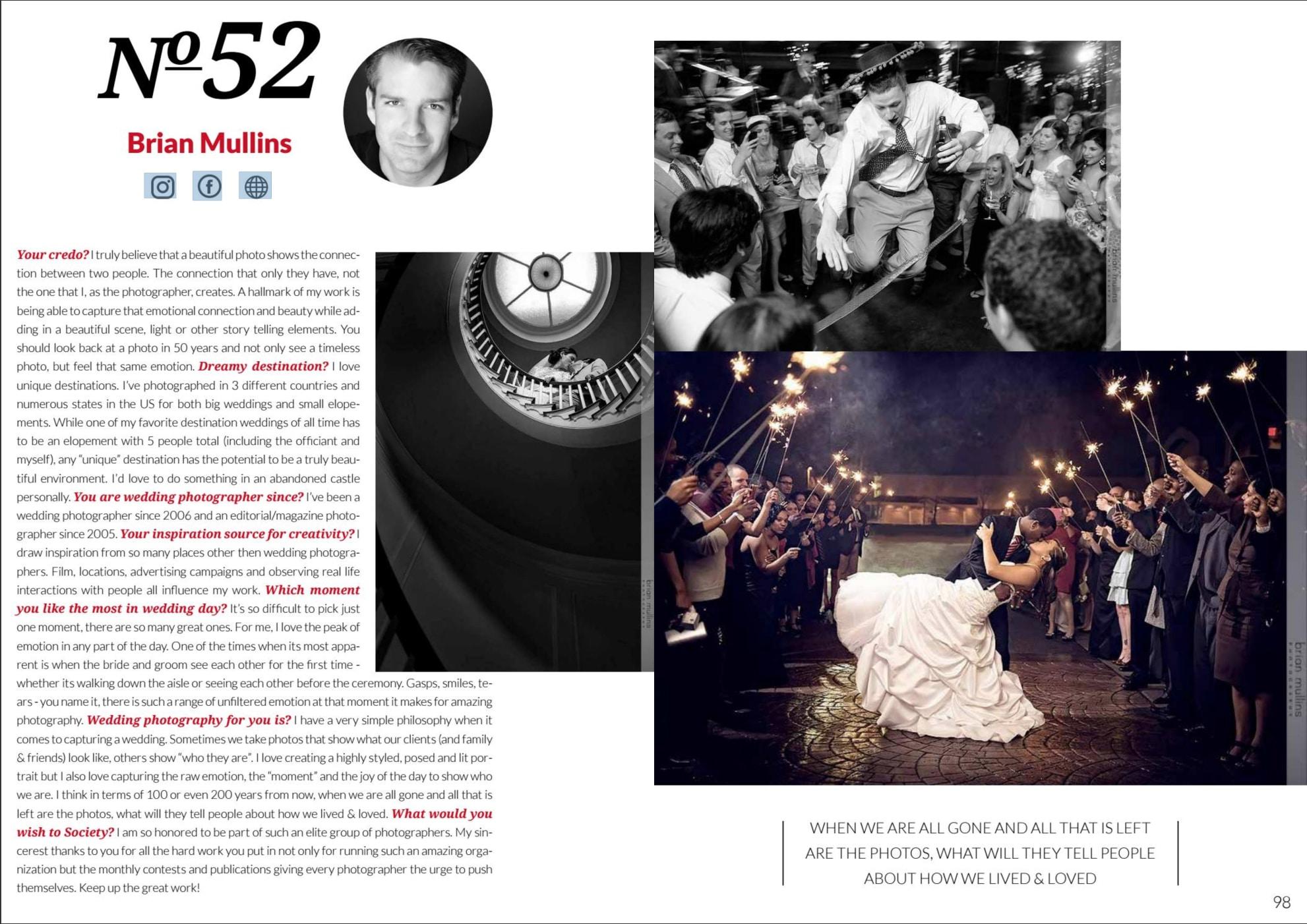 #52 wedding photographer in the world