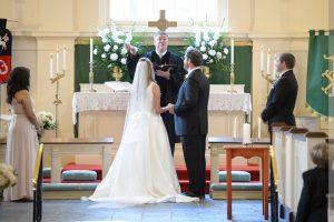 wedding at village chapel pinehurst