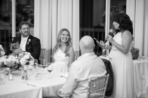 wedding toast at pinehurst no 9 clubhouse