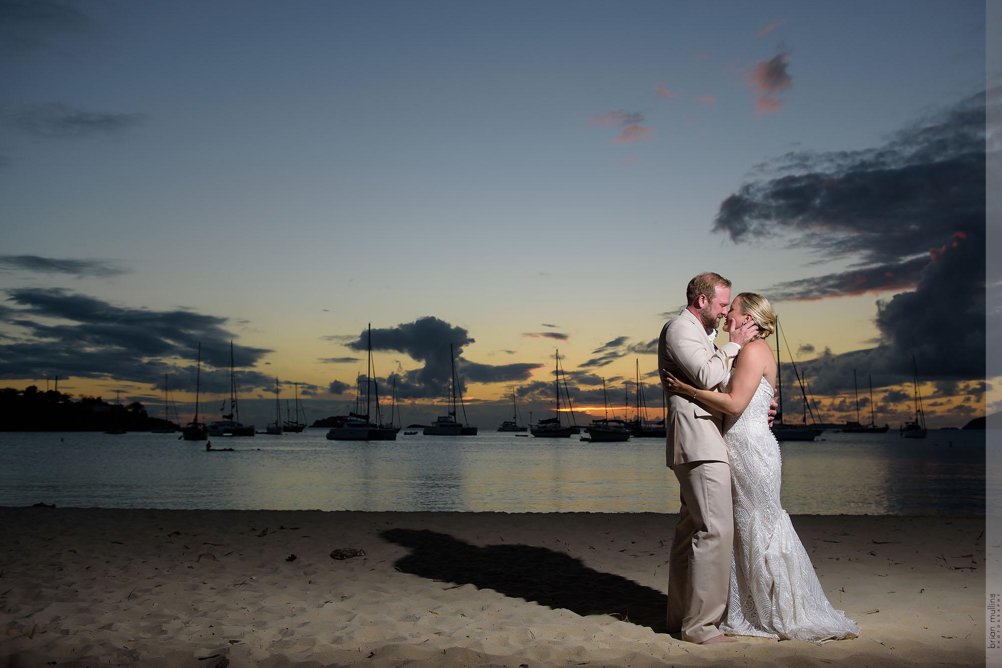 St. Thomas Destination Wedding | Lauren & Dan