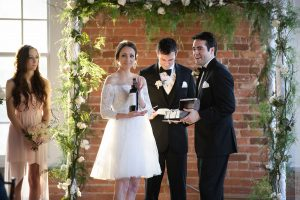 wine box ceremony at wedding